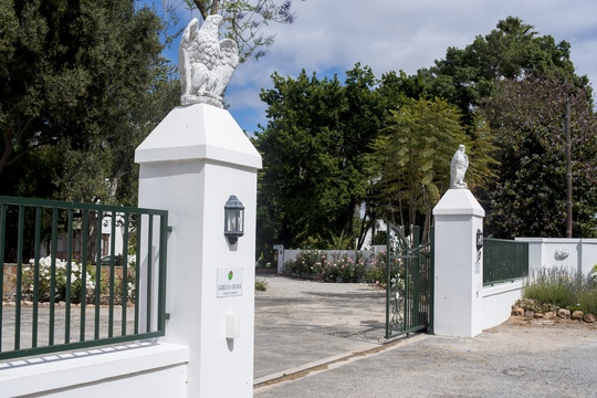 Entrance to Green Olive Guest House
